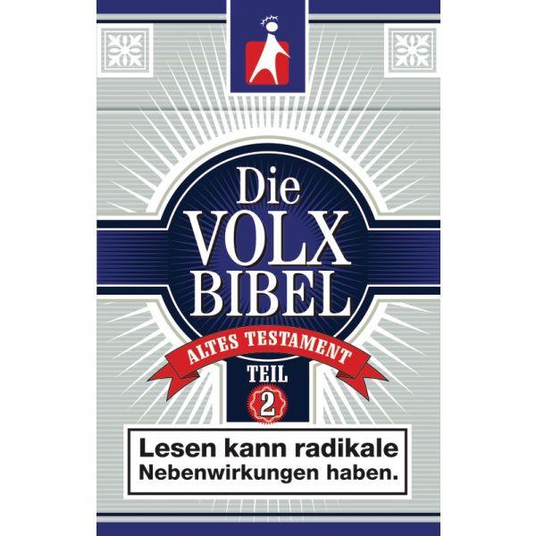 Die Volxbibel AT - Teil 2, Motiv Zigarettenschachtel