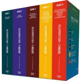 Edition C Bibelkommentar, Neues Testament, Gesamtausgabe im Schuber