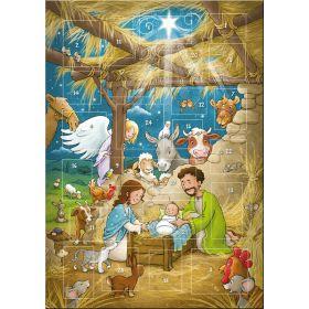 Der magnetische Adventskalender - Weihnachtsfreude in Betlehem