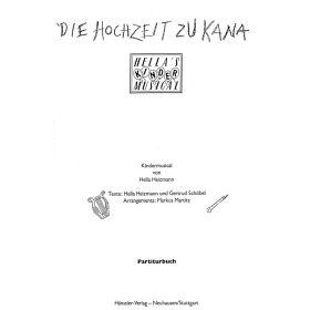 Die Hochzeit zu Kana - Partiturbuch
