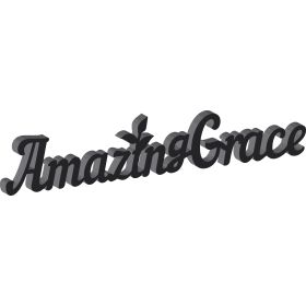 "Dekoworte ""Amazing Grace"""