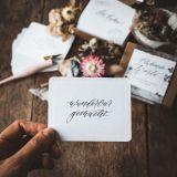 Blühende Worte - 50 x Ermutigung für dich