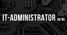 Stellenanzeige IT-Administrator_Juni 2016